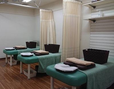 三河島鍼灸整骨院の施術室