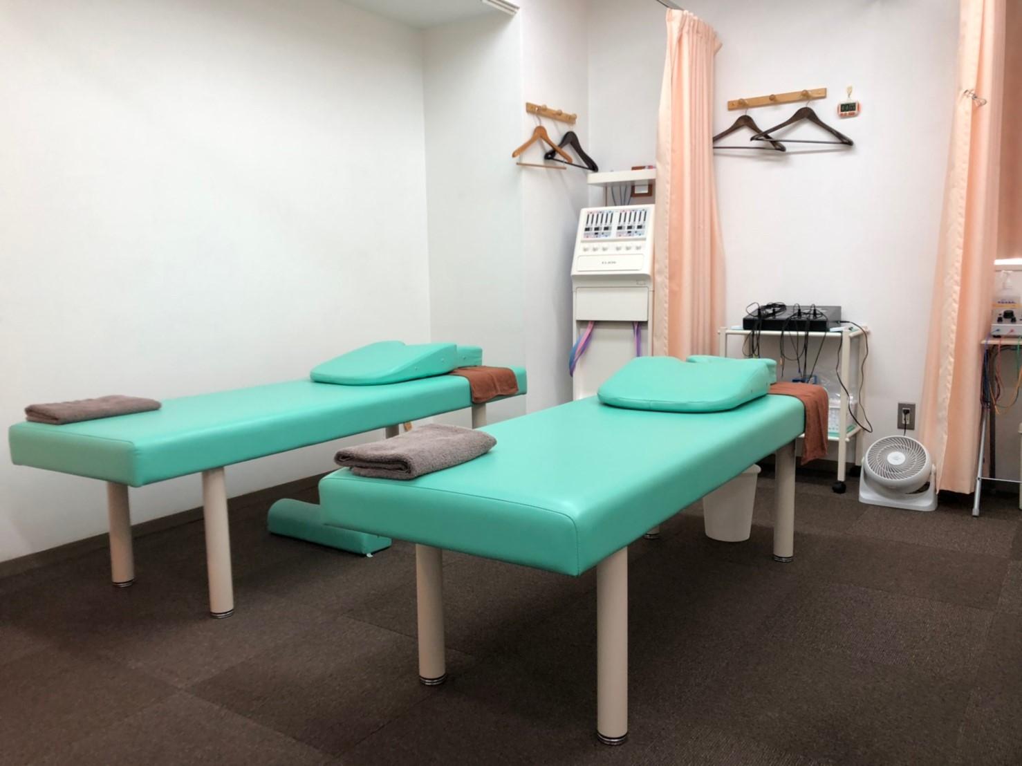 あさくさ鍼灸整骨院の施術室